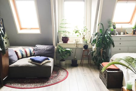 Charming & cozy studio in the Indische Buurt! - Amszterdam - Lakás