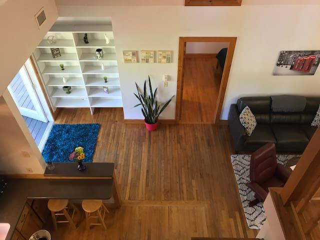 Amazing 2br 2ba with Loft D - Gainesville - Lägenhet