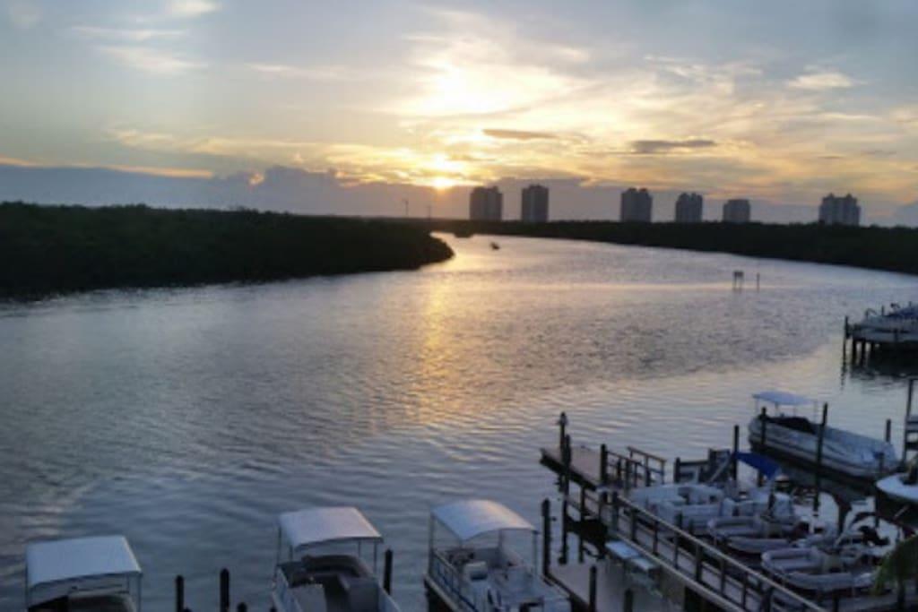 Breathtaking water views!