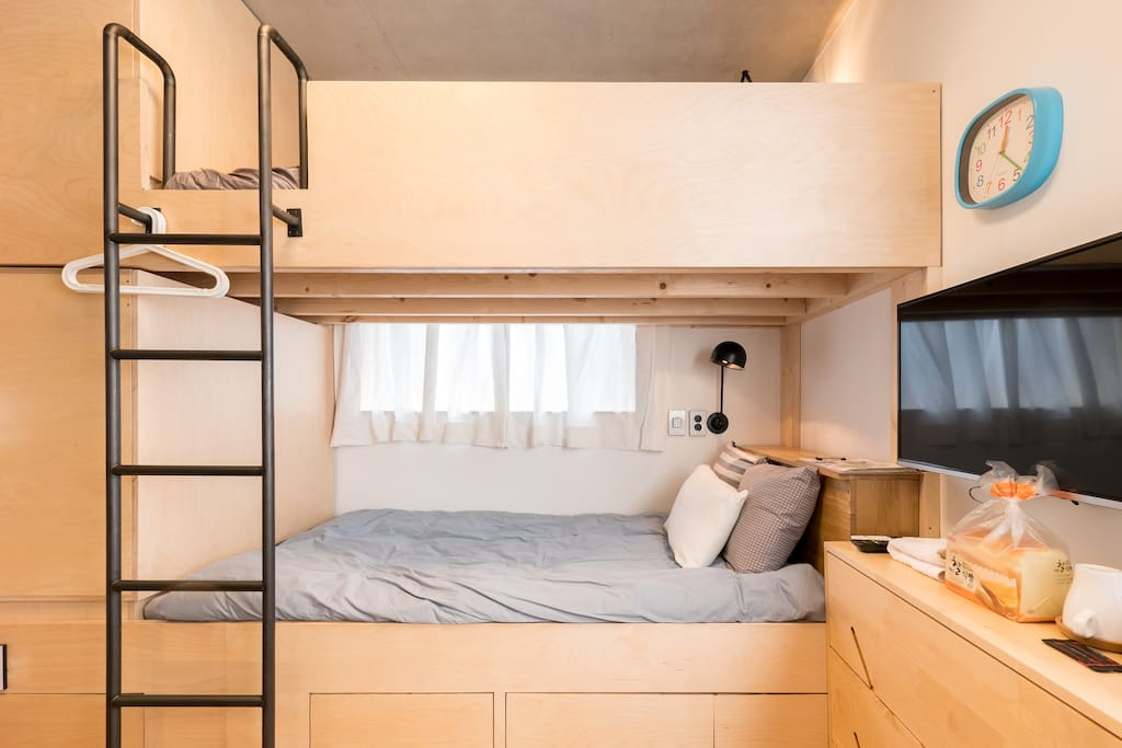 bunk bed for 2 person
