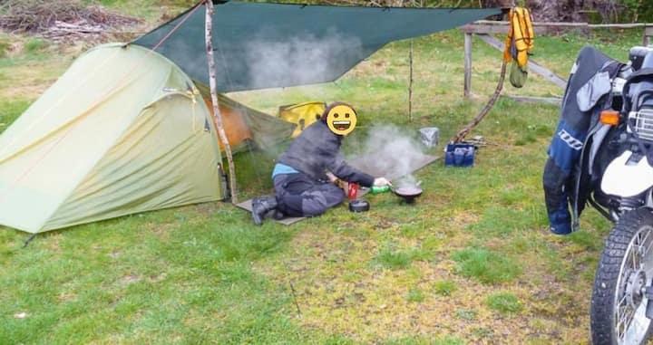 Zelten im Garten, Kinder frei, Seenah