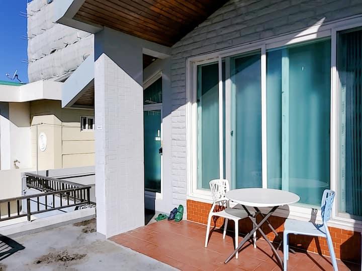 광안家 주택2층, 24평, 우정여행, 커플여행, 무료주차,  테라스, 광안리해변 산책