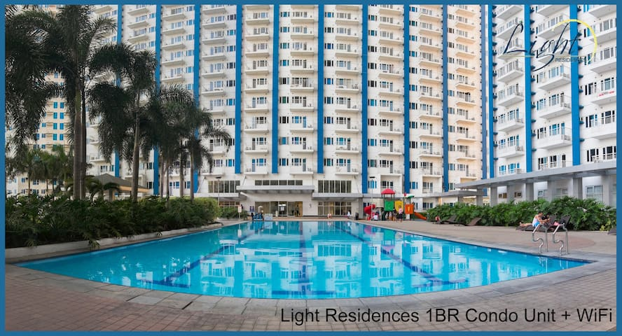 Light Residences-MRT-Linked 1BR Condo+WiFi+NETFLIX