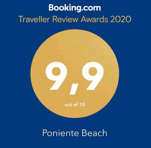 VUT AS944 Poniente Beach. Parking. Lujo. Playa