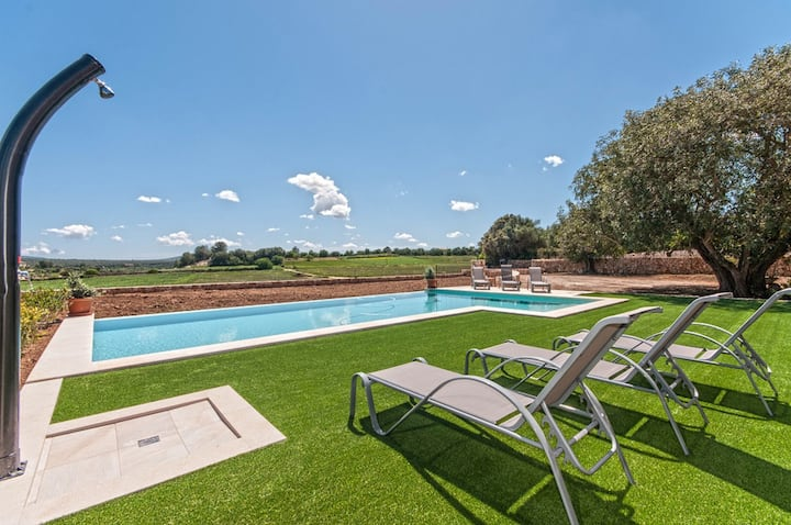 NEW! Son Guillot Pedro:Amazing finca pool & garden