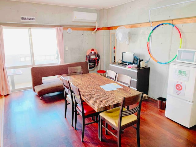 Naha spacious. Wifi!  2 parking is possible! 201