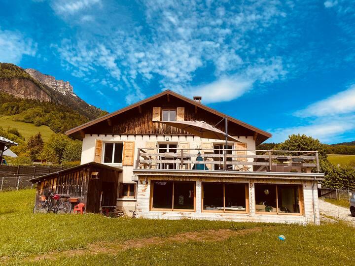 Grande maison au cœur de la Chartreuse