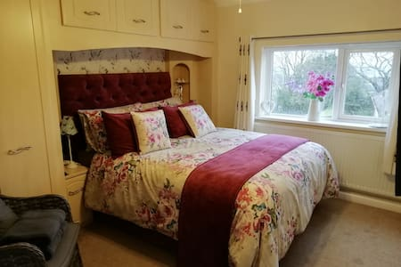 Cornwall home with a view (en-suite)