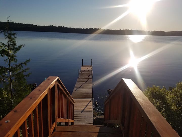 Private, Pet Friendly Maine Lakeside Getaway!