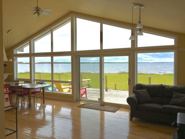 Stunning Oceanfront PEI Cottage