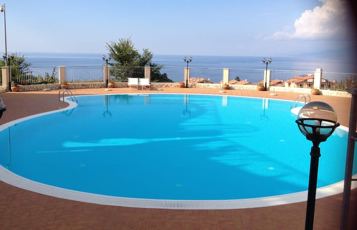 New apartments at the sea. Pizzo, Calabria.
