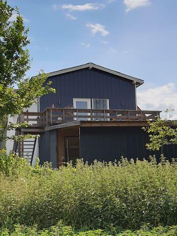 Naturnahe idyllische Wohnung mit Ausblick
