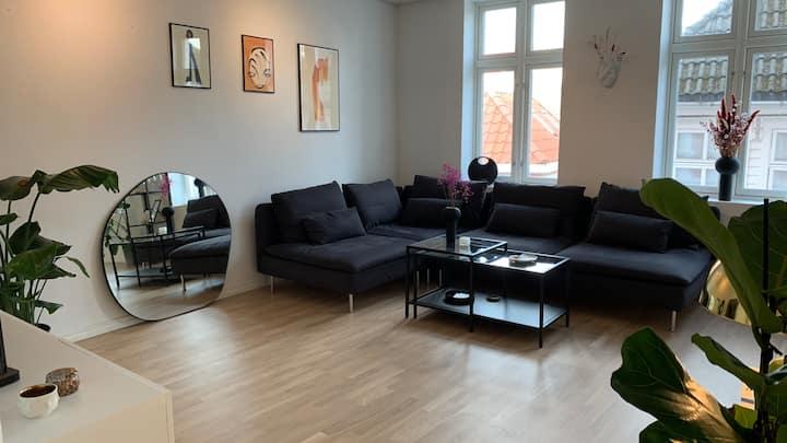 Sentral 3-roms leilighet, Bergen