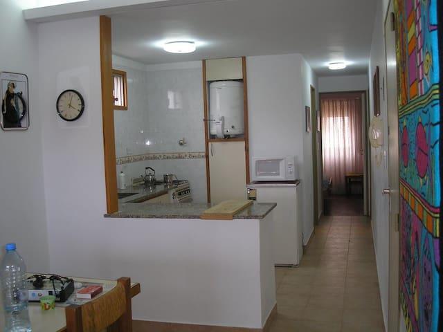 San Bernardo Depto p/7 personas a 100 mts del mar! - San Bernardo del Tuyú - Apartamento