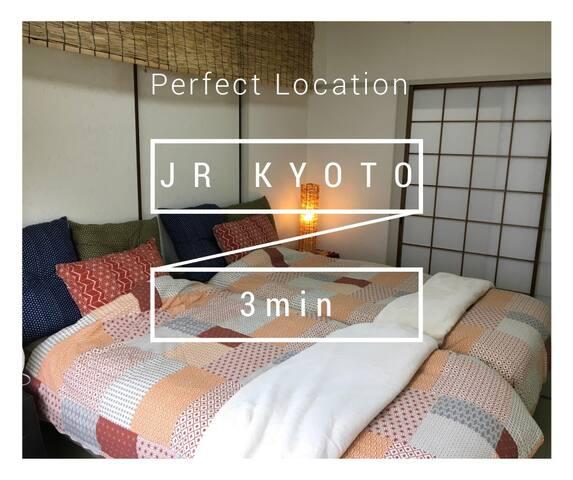 京都最好的觀光景點【JR Kyoto station 3min!!】