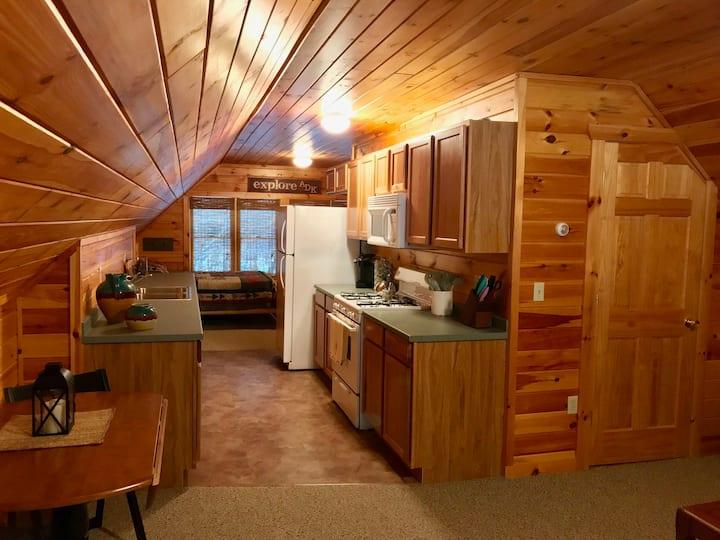 Cozy Adirondack Efficiency