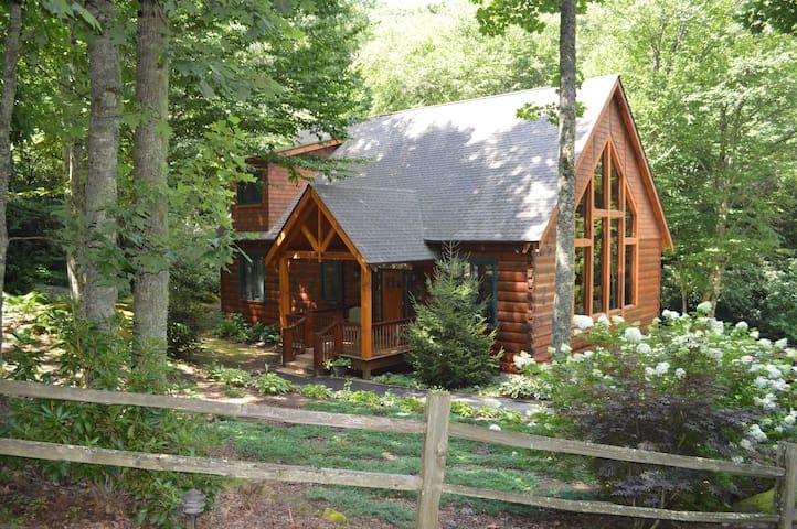 Western Carolina Mountain Custom Log Cabin