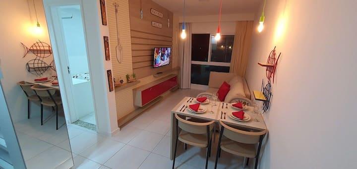 Flat 419B Porto de Galinhas - Apartamento aconchegante
