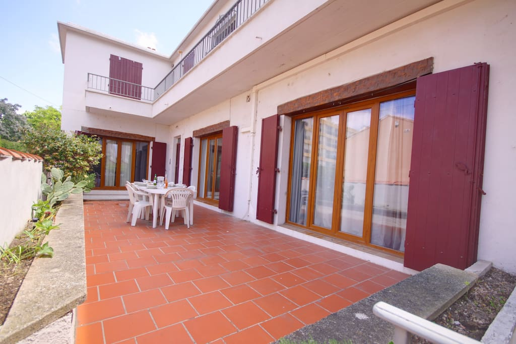 Terrasse privative / Private terrace