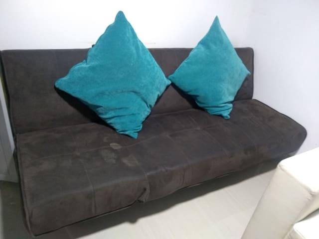 Sofá cama semi doble