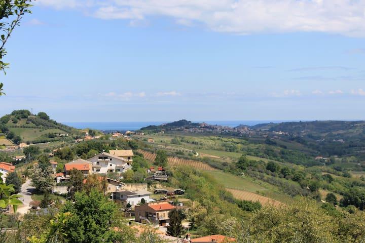 Appartamento a 15 minuti dal mare - Miglianico - Lejlighed