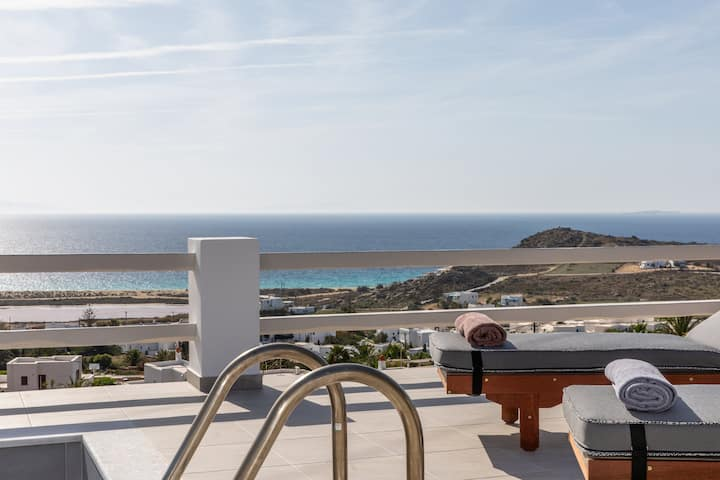 2 Room Sea View Suite with Pool | Mythology Naxos