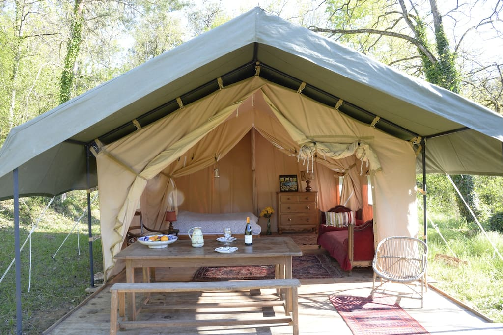 La tente Safari
