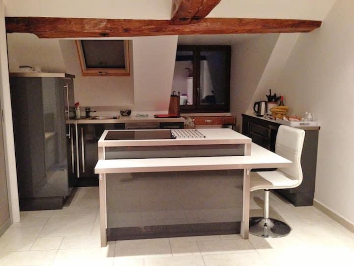 appartement 3 étoiles Gites de France design