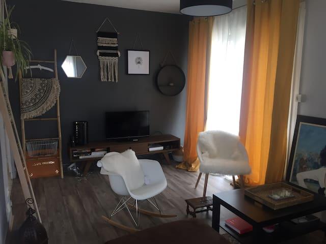 Appartement entier, avec parking