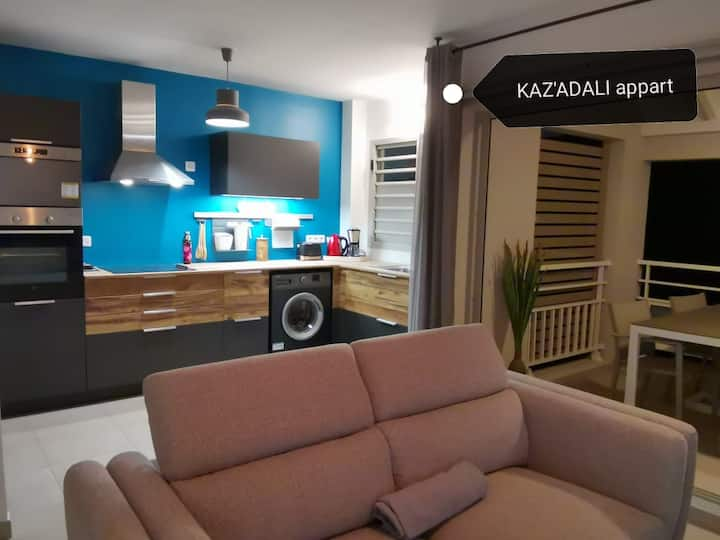 Kaz'Adali Appart T2 Standing Gosier péri-Centre