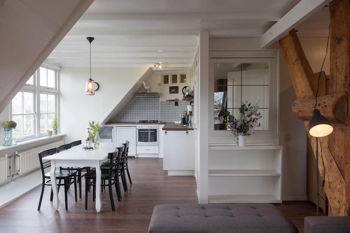 Deluxe Countryside Apartment near Amsterdam - Middelie - 아파트