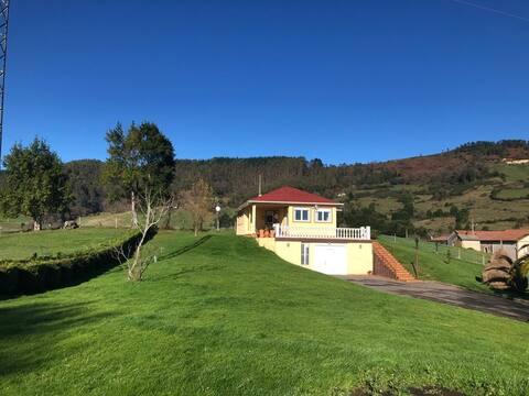 Casa rural moderna en Asturias. VV.1544.AS