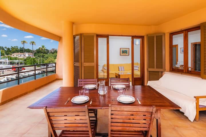 Cosy Apartment in Porto Cristo with Harbour View and WLAN