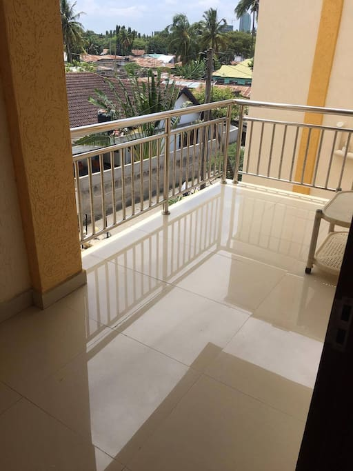 Balcony from apartment