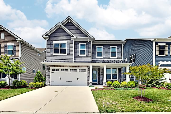 Expansive New-Build w/ 3 Living Areas, Near Bethany Beach