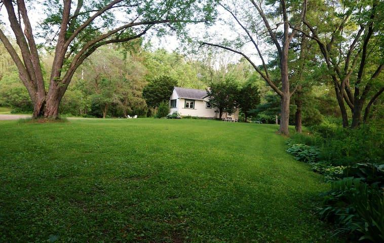 Beautiful Cozy Lake House on 2 & 1/2 acres!