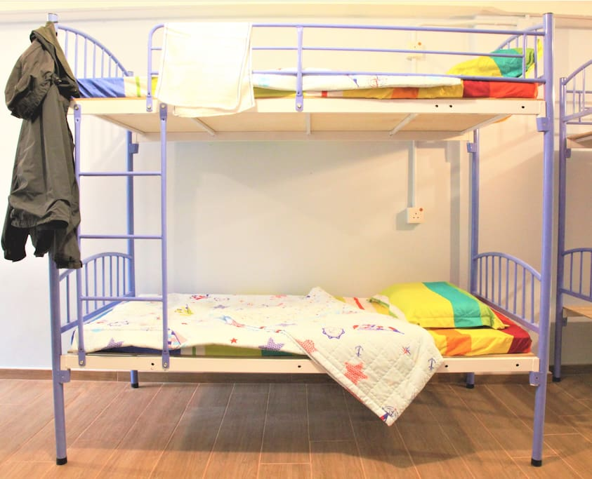 Bunk Beds for travelers!