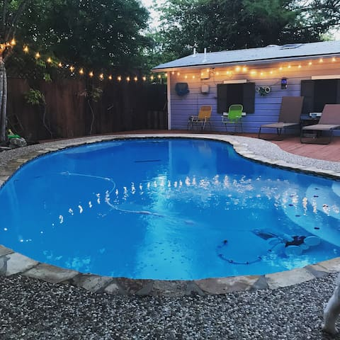 Pool House-mins from Pearl, Witte, Zoo, Downtown