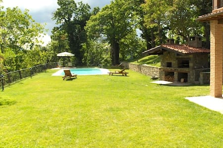 Stunning view, pool for 10 guests - San Romano in Garfagnana