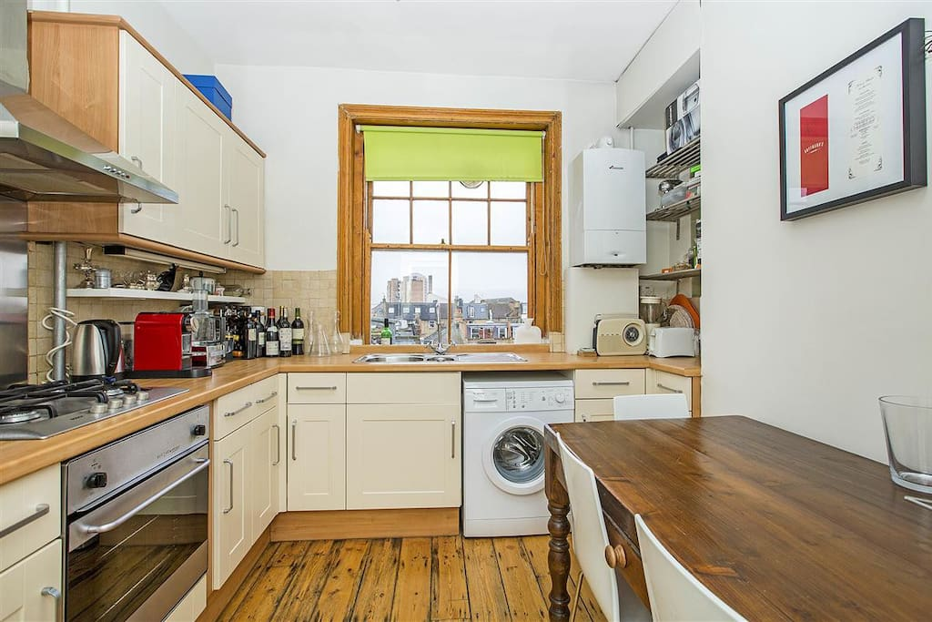 eat-in kitchen with all the amenities