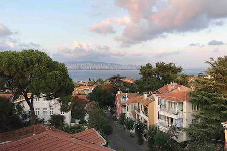 Duplex House with a Magnificent View in Büyükada