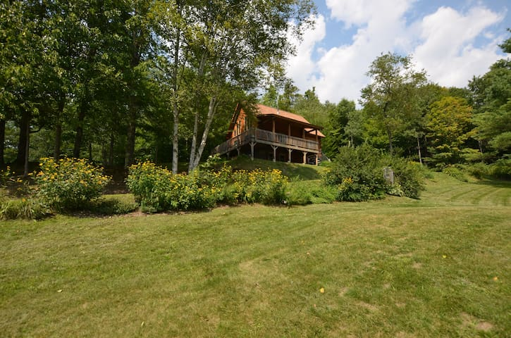 Log Cabin In Rural Vermont - Tunbridge - Casa
