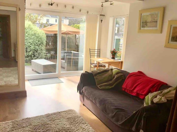 A private space, central to beautiful Tavistock