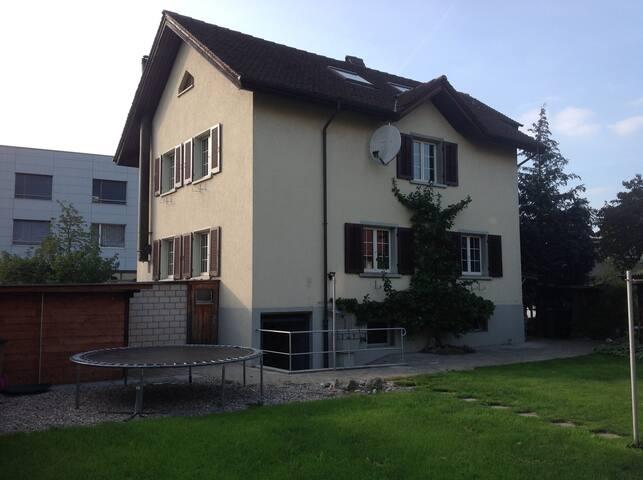 Dübendorf - Einzelzimmer im stadtnahen Paradis (3)