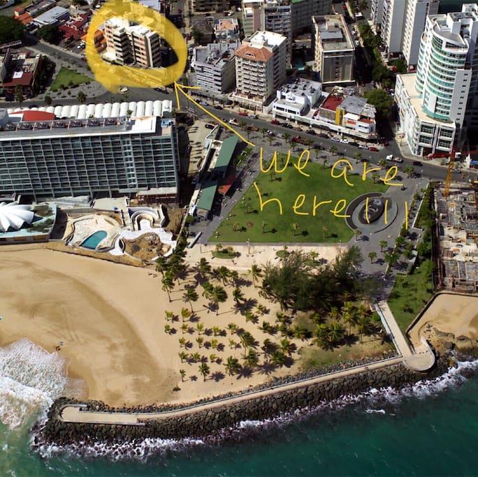 Prime location @Condado Beach Area in front of La Concha Hotel and Casino