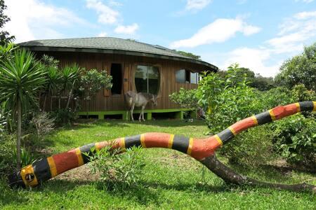 Una casa de artista en el bosque - Miramar de Puntarenas - Dům