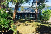 Absolute waterfront 2 bedroom cottage