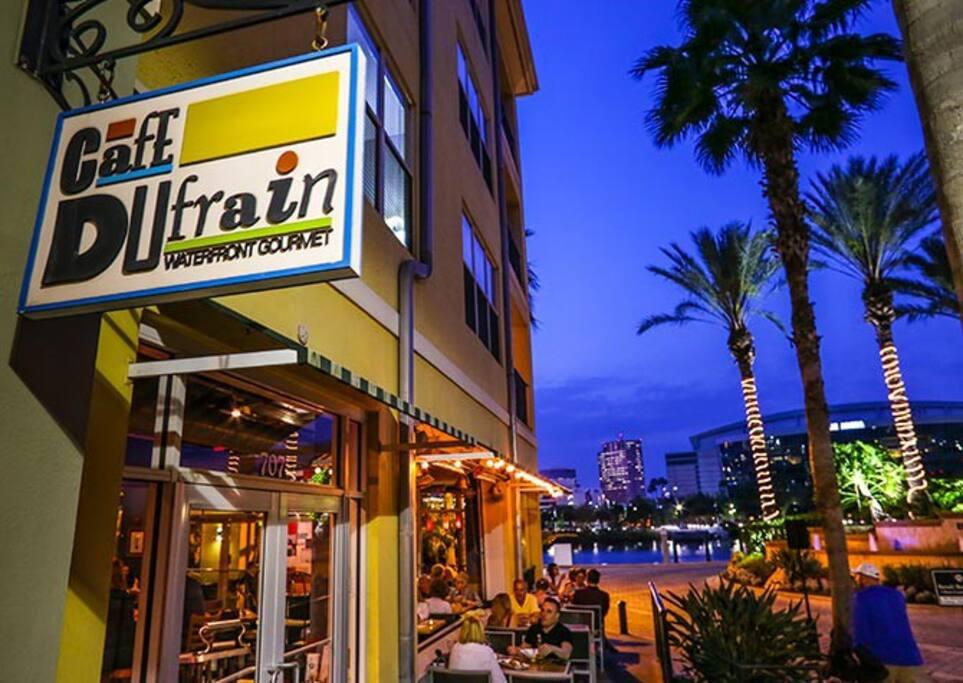Restaurants, Bars, Cafes underneath your building!