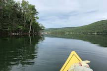 Kayaking the cove, two kayaks and life jackets included