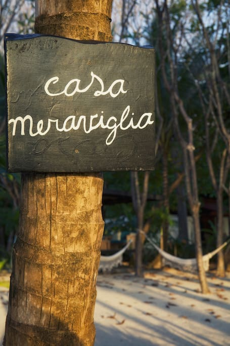 Experience Costa Rica in a contemporary style at the Meraviglia house.